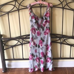 ABS Evening Maxi Dress Floral